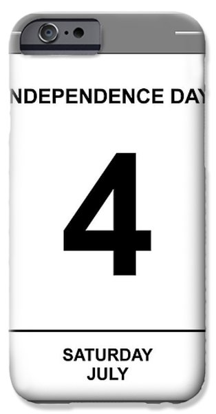 4th July iPhone Cases - 4th July iPhone Case by Henrik Lehnerer