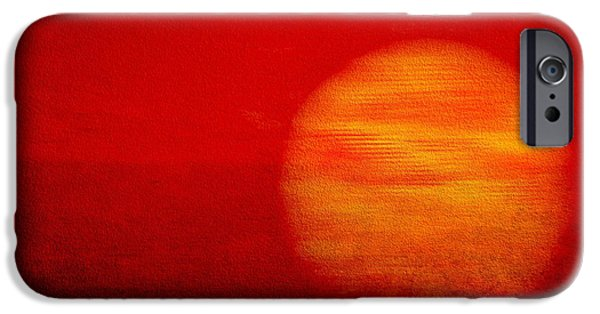 Abstract Picture iPhone Cases - Abstract Art iPhone Case by Heike Hultsch