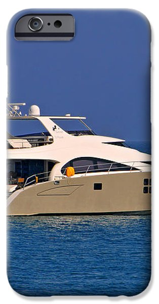 Antibes - Superyachts of Billionaires iPhone Case by Christine Till