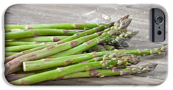 Crops iPhone Cases - Asparagus iPhone Case by Tom Gowanlock