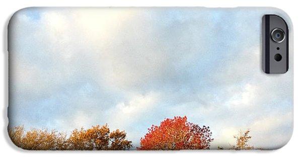 Autumn Photographs iPhone Cases - Autumn iPhone Case by Les Cunliffe