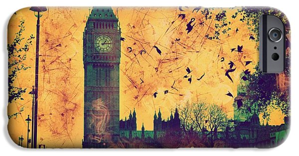 Epic iPhone Cases - Big Ben iPhone Case by Marina McLain