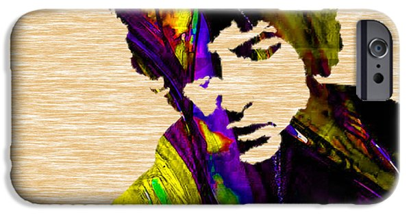 Home iPhone Cases - Bob Dylan Collection iPhone Case by Marvin Blaine
