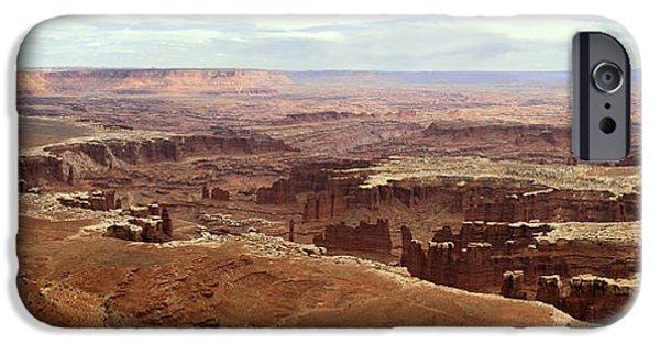 Arkansas iPhone Cases - Canyonlands National Park in Utah iPhone Case by Brett Pfister
