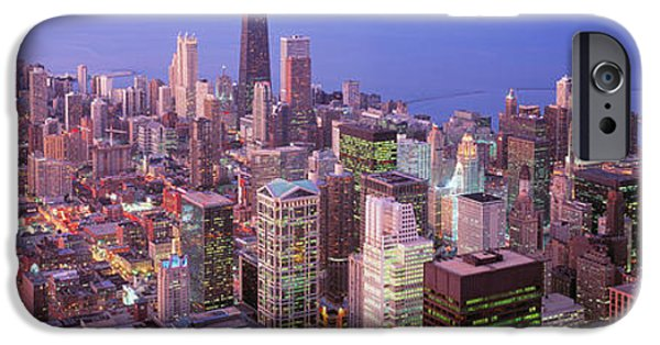 Chicago iPhone Cases - Chicago, Illinois, Usa iPhone Case by Panoramic Images