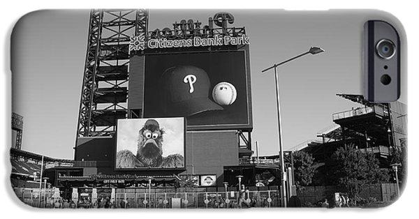 Pennsylvania Baseball Parks iPhone Cases - Citizens Bank Park - Philadelphia Phillies iPhone Case by Frank Romeo