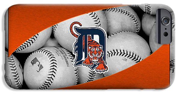 Tiger Stadium iPhone Cases - Detroit Tigers iPhone Case by Joe Hamilton