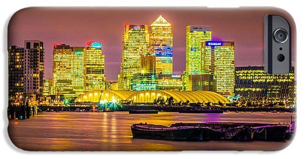 River View iPhone Cases - Docklands iPhone Case by Dawn OConnor