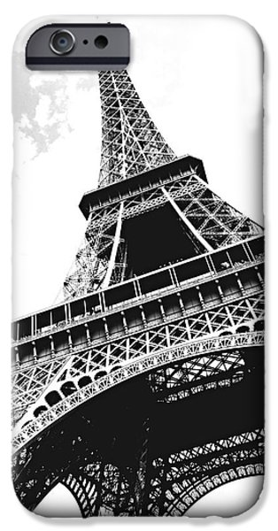 Paris iPhone Cases - Eiffel tower iPhone Case by Elena Elisseeva