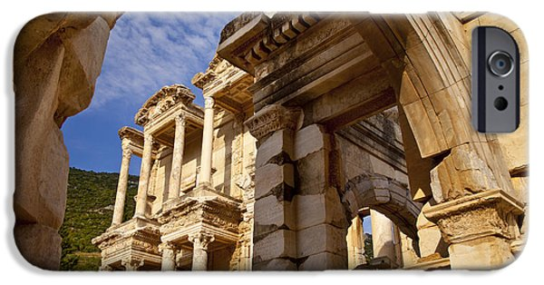 Ephesus iPhone Cases - Ephesus Turkey iPhone Case by Brian Jannsen