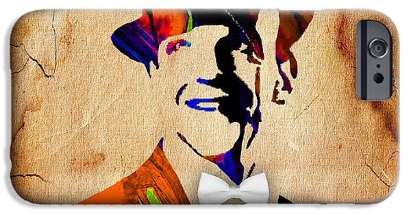 Dancing iPhone Cases - Fred Astaire Collection iPhone Case by Marvin Blaine