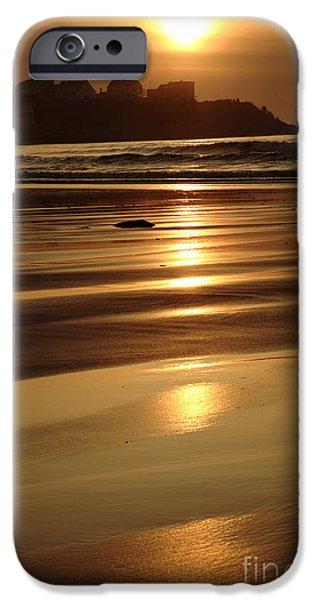 Seacoast iPhone Cases - Hampton Beach New Hampshire USA iPhone Case by Erin Paul Donovan