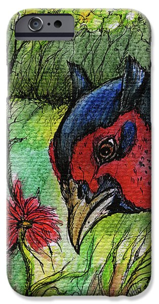 in my magic garden iPhone Case by Angel  Tarantella