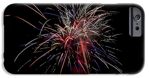 Fireworks iPhone Cases - Local Fireworks iPhone Case by Mark Dodd