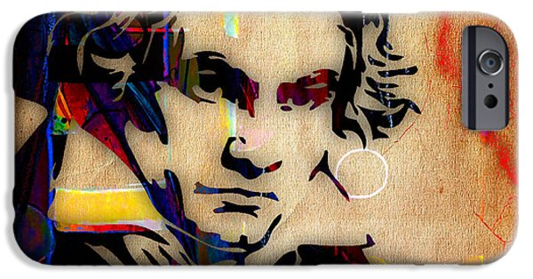 Classical iPhone Cases - Ludwig Van Beethoven Collection iPhone Case by Marvin Blaine