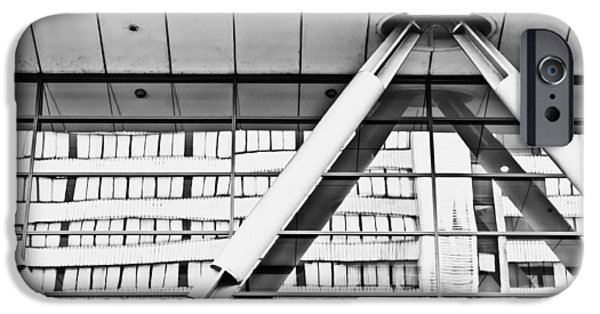 Structural iPhone Cases - Modern architecture iPhone Case by Tom Gowanlock