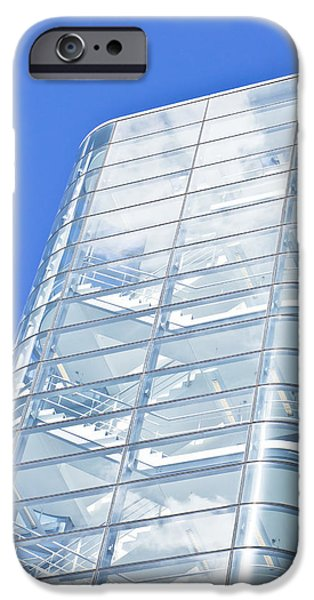 Ultra Modern iPhone Cases - Modern building iPhone Case by Tom Gowanlock