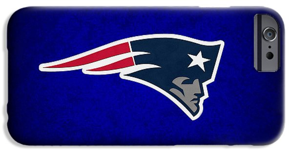 Balls Photographs iPhone Cases - New England Patriots iPhone Case by Joe Hamilton