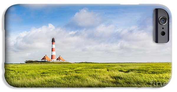 Wadden Sea iPhone Cases - North Sea iPhone Case by JR Photography