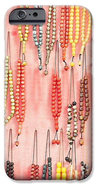 Accessories iPhone Cases - Prayer beads iPhone Case by Tom Gowanlock