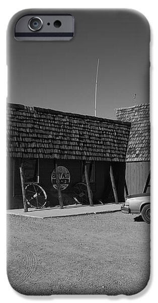 Route 66 - Bagdad Cafe iPhone Case by Frank Romeo