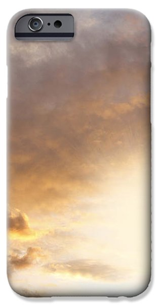 Sky iPhone Case by Les Cunliffe