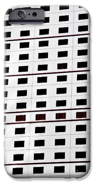 Business iPhone Cases - skyscraper windows background in Hong Kong  iPhone Case by IB Photo