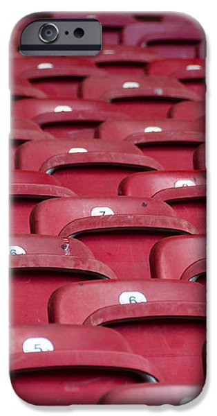 Stadium Seats iPhone Case by Frank Gaertner