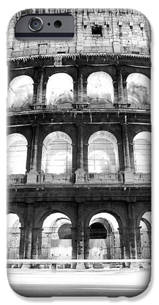 The Majestic Coliseum - Rome iPhone Case by Luciano Mortula