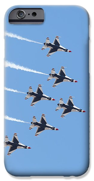Weapon iPhone Cases - Thunderbirds iPhone Case by Mariusz Blach