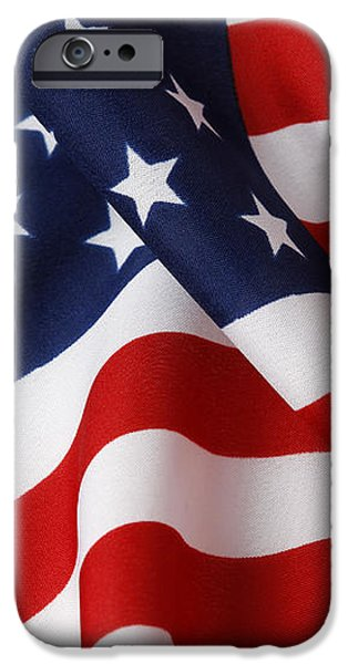 USA iPhone Case by Les Cunliffe