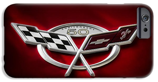 Automotive iPhone Cases - 50th Anniversary iPhone Case by Douglas Pittman