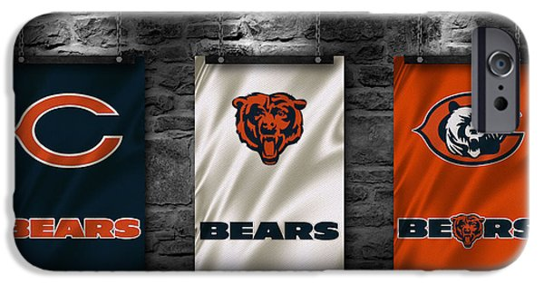 Recently Sold -  - Flag iPhone Cases - Chicago Bears iPhone Case by Joe Hamilton