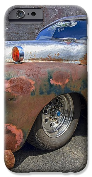 52 Chevy Truck iPhone Case by Debra and Dave Vanderlaan