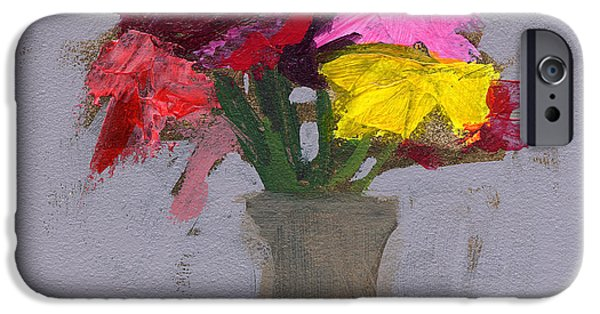 Glass Vase iPhone Cases - RCNpaintings.com iPhone Case by Chris N Rohrbach
