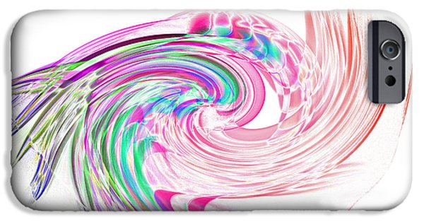 Design iPhone Cases - Incense Smoke Art iPhone Case by Stephen Inglis