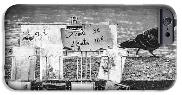 Lumiere iPhone Cases - Paris iPhone Case by Gianfranco Evangelista