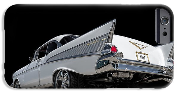 Automotive iPhone Cases - 57 Bel Air iPhone Case by Douglas Pittman