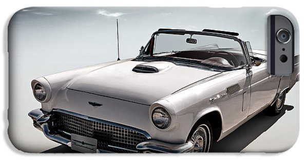 Convertible iPhone Cases - 57 T-Bird iPhone Case by Douglas Pittman