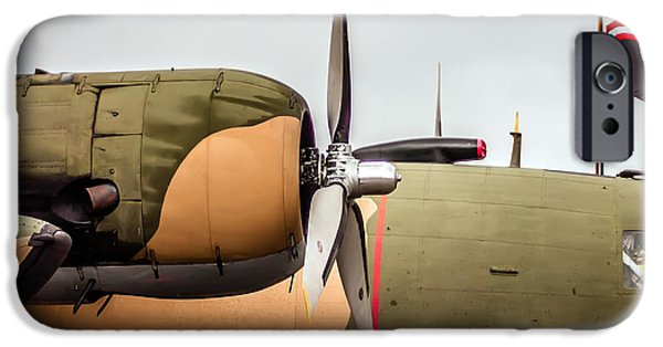 Flight iPhone Cases - Airplanes At The Airshow iPhone Case by Alexandr Grichenko