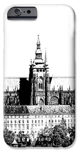 Cathedral of St Vitus iPhone Case by Michal Boubin
