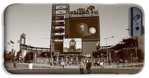 Fanatic iPhone Cases - Citizens Bank Park - Philadelphia Phillies iPhone Case by Frank Romeo