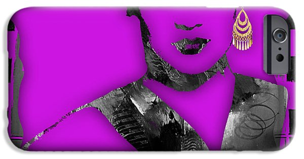 Pop iPhone Cases - Empires Grace Gealey Anika Gibbons iPhone Case by Marvin Blaine
