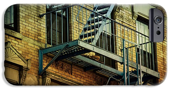 Recently Sold -  - East Village iPhone Cases - Fire Escape iPhone Case by Newyorkcitypics Bring your memories home