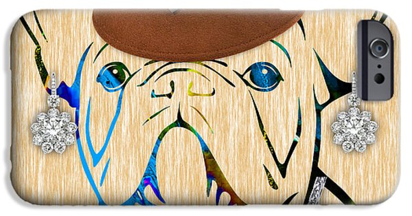 French Bulldog iPhone Cases - French Bulldog Collection iPhone Case by Marvin Blaine