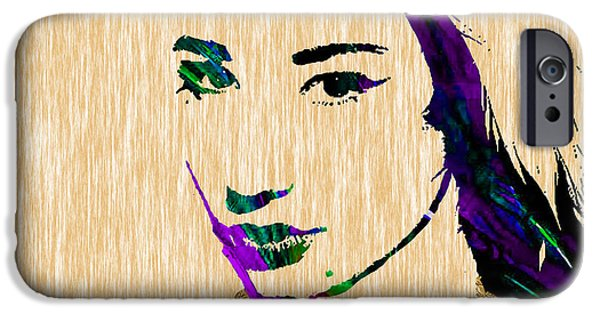 Pop Art iPhone Cases - Iggy Azalea Collection iPhone Case by Marvin Blaine
