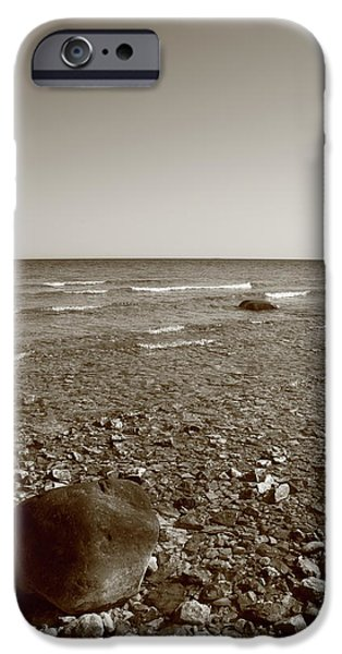 Lake Huron iPhone Case by Frank Romeo