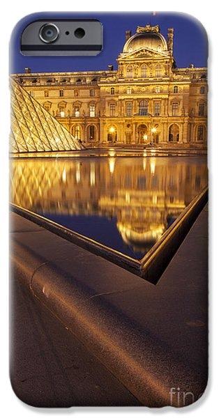 Musee du Louvre iPhone Case by Brian Jannsen