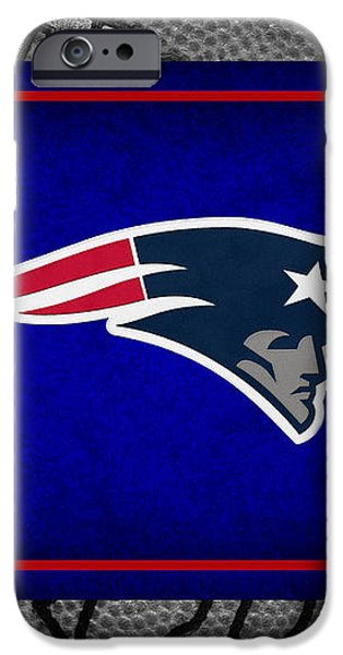 NEW ENGLAND PATRIOTS iPhone Case by Joe Hamilton
