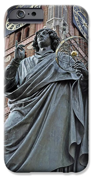 Copernicus iPhone Cases - Nicolaus Copernicus. iPhone Case by Fernando Barozza